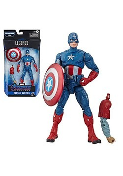 "Marvel Legends Captain America 6"" Action Figure"