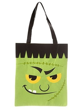 Frankenstein Monster Tote Bag