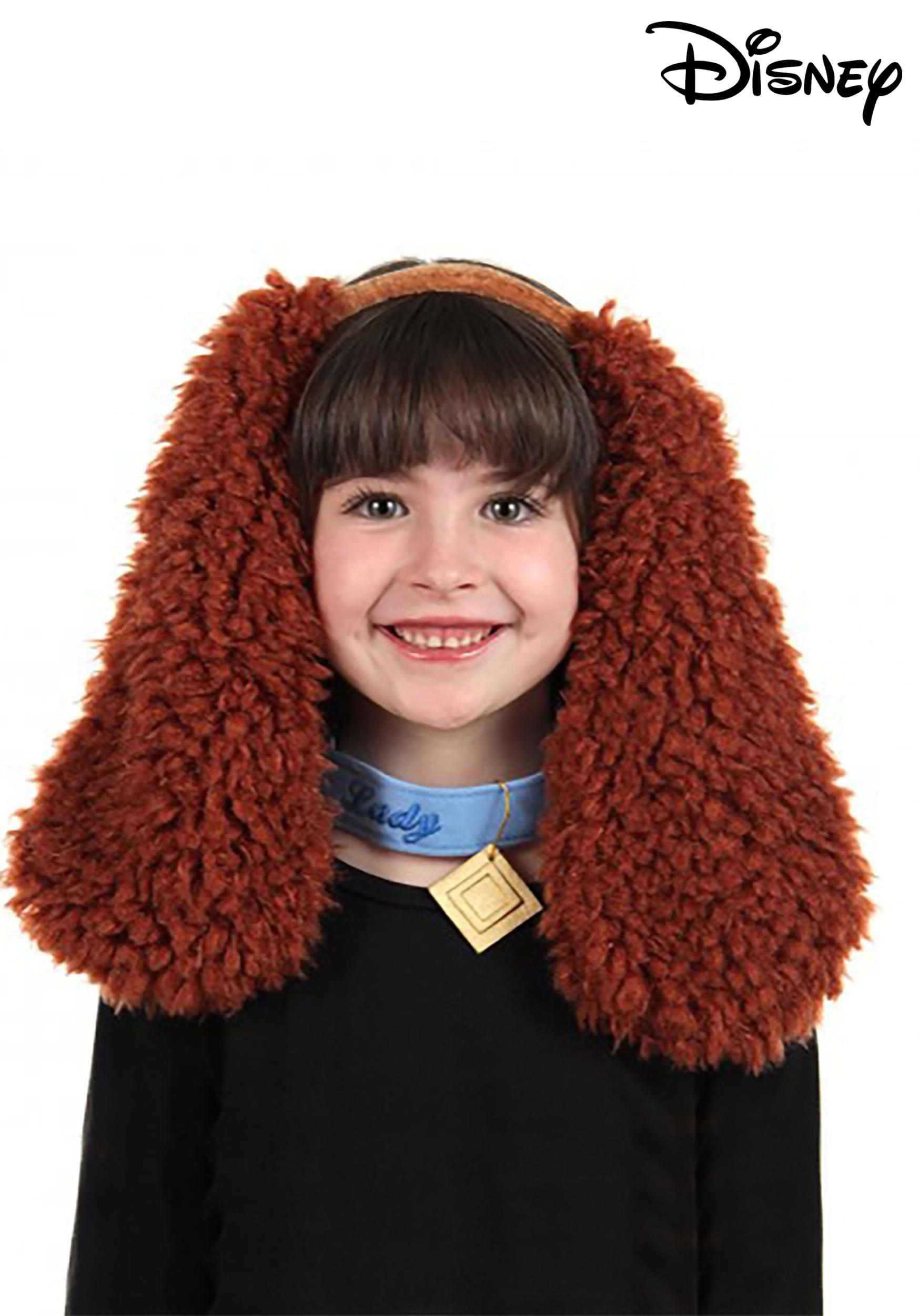 Fancy Dress Costume Accessory Lady /& The Tramp Fluffy Dog Ear Headband