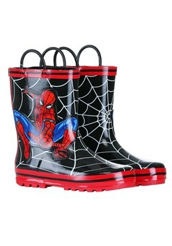 Child Spider-Man Rain Boots