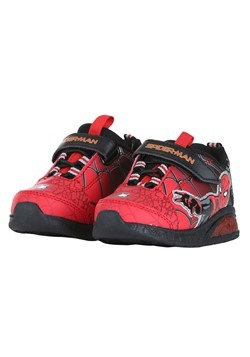 Kids Spider Man Lighted Athletic Shoes