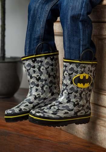 Batman Rain Boots Upd
