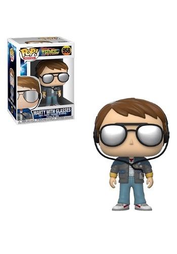 POP Movie: BTTF- Marty w/ Glasses