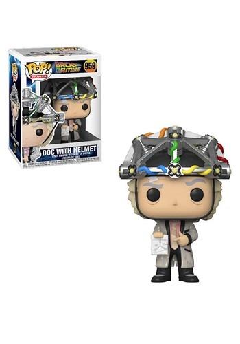POP Movie: BTTF- Doc w/ Helmet