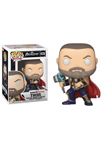 Pop Marvel Avengers Game Thor Stark Tech Suit