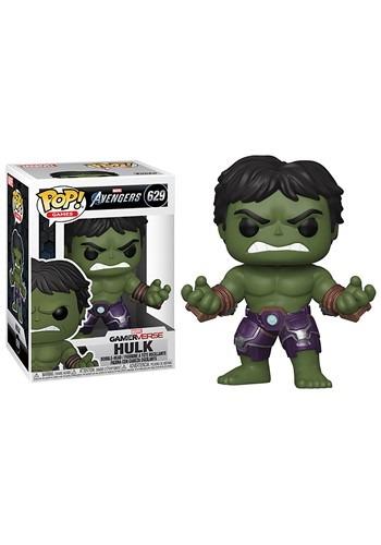 Pop Marvel Avengers Game Hulk Stark Tech Suit
