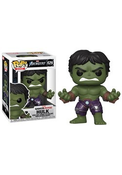Pop Marvel Avengers Game Hulk Stark Tech Suit