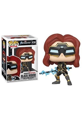 Pop Marvel Avengers Game Black Widow Stark Tech Suit