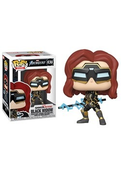 Pop Marvel Avengers Game Black Widow Stark Tech Suit