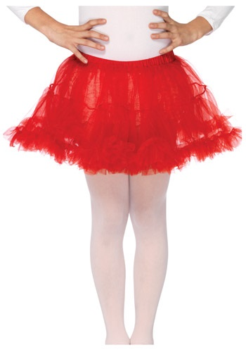 Red Petticoat For Kids