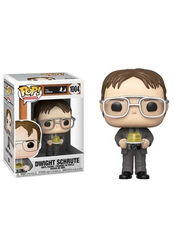 POP TV The Office S1 Dwight w Gelatin Stapler Figure
