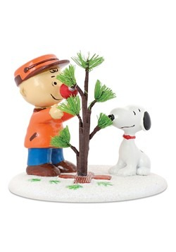 Department 56 Peanuts The Perfect Tree Figure