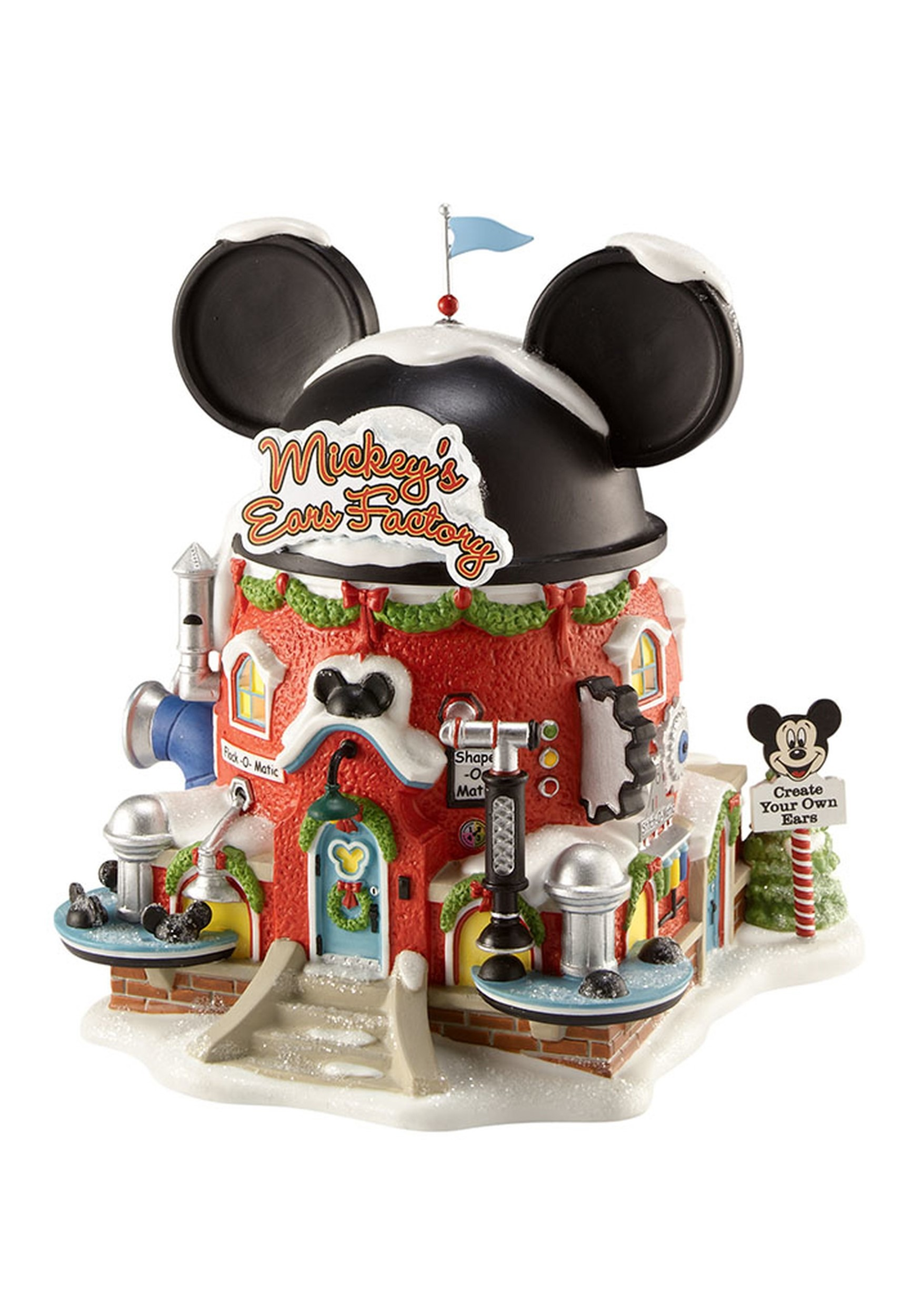 Mickeys Ears Factory Department 56 Collectible