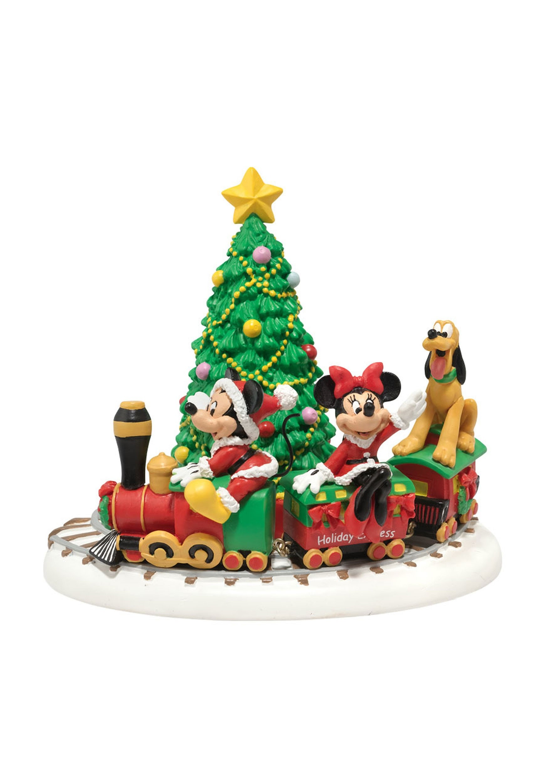Mickeys Holiday Express Department 56 Collectible