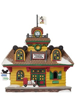 Department 56 Mickey's Train Station