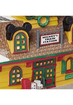 Department 56 Mickey's Train Station Alt 1