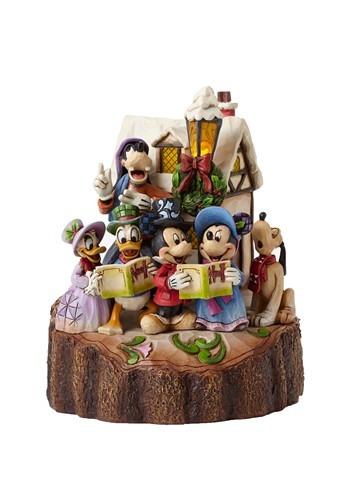 Carved Disney Caroling Figurine from Heart