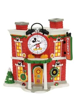 Department 56 Mickeys Alarm Clock Shop