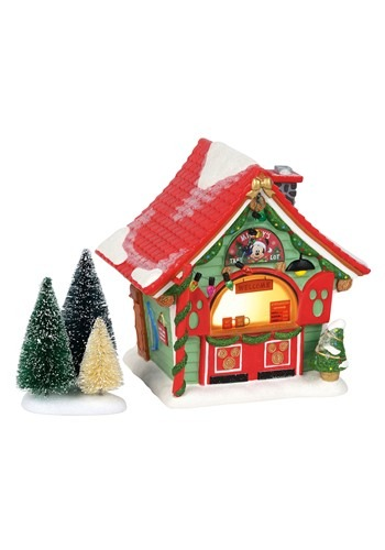 Department 56 Mickeys Porcelain Tree Lot House