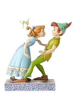 Disney Peter Pan Wendy and Tinker Bell Statue