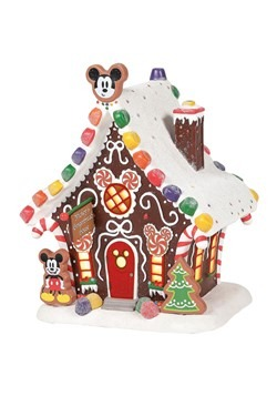Department 56 Mickey's Gingerbread House