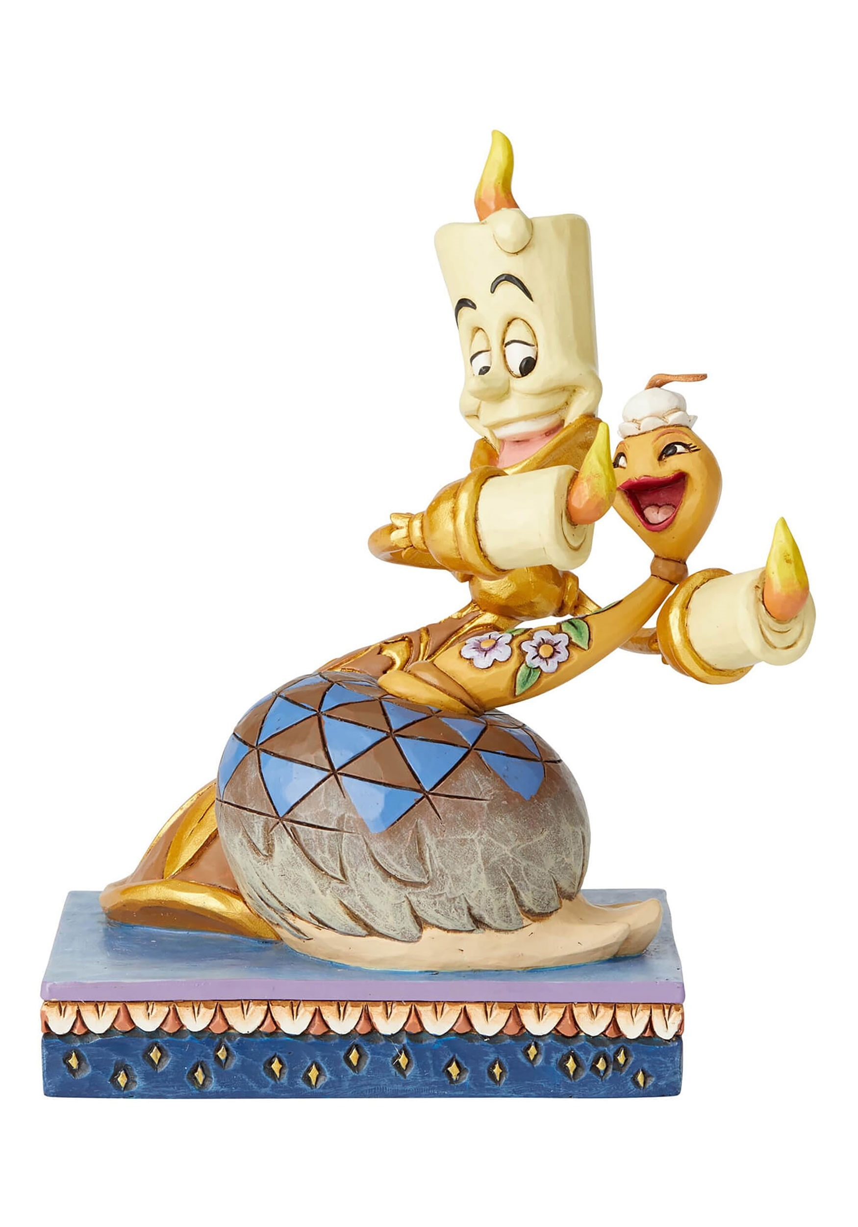 Lumiere The Feather Duster Beauty And The Beast Statue