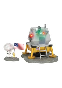 Department 56 Peanuts the Beagle Has Landed Figure