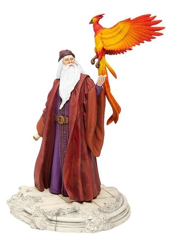 Harry Potter Dumbledore w/ Fawkes Statue