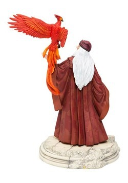 Harry Potter Dumbledore w/ Fawkes Statue Alt 1