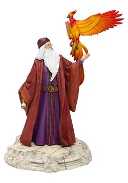 Harry Potter Dumbledore w/ Fawkes Statue Alt 3