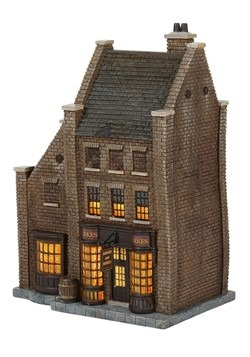 Department 56 Harry Potter Borgin and Burkes Resin Building