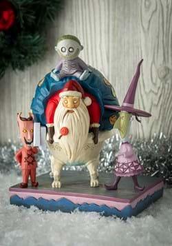 Lock, Shock & Barrel w/Santa Statue