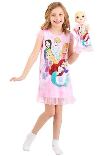 Girls Disney Princesses Dorm Nightgown