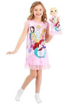 Girls Disney Princesses Dorm Nightgown