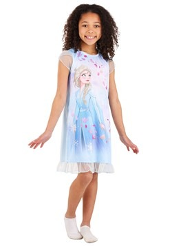 Disney Girls Frozen Elsa Dorm Nightgown