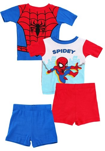 Toddler's Boy Spiderman Spidey Suit 2 Piece Sleep