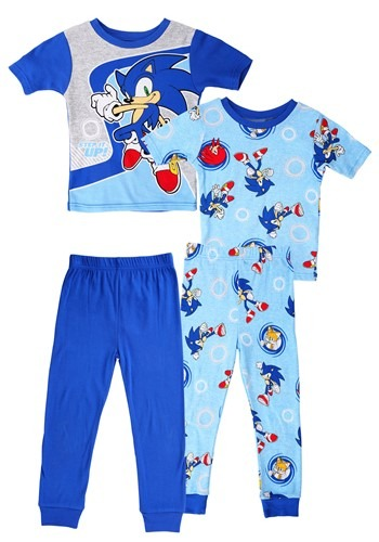 Boys Sonic 2 Piece Sleep Set