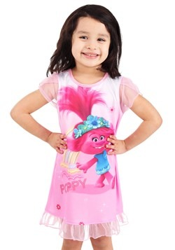 Toddler Girls Trolls Poppy Dorm Nightgown