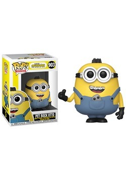 POP Movies Minions The Rise of Gru Pet Rock Otto Figure