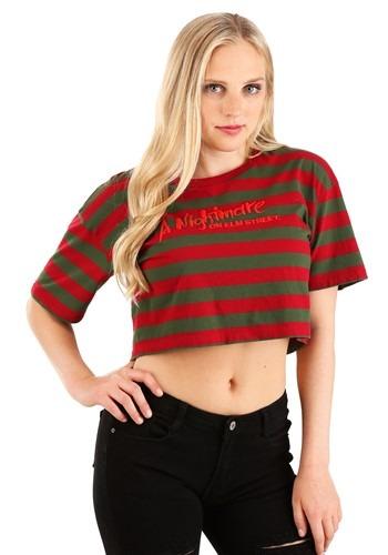 Nightmare On Elm Street Crop Top Shirt Update