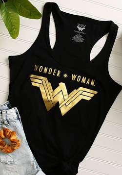 Wonder Woman Logo Tank Top Update