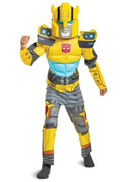 Transformers Child Muscle Bumblebee Costume