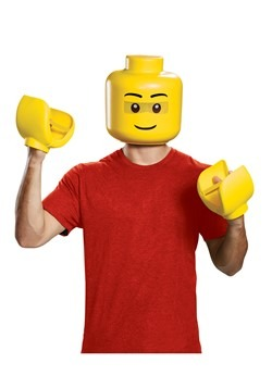 Adult LEGO Mask and Hands Kit