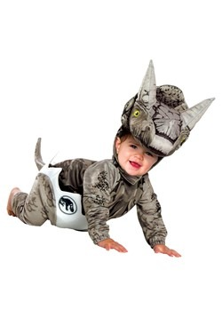 Infant Jurassic World Hatchling Triceratops Costume