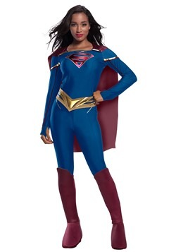 Supergirl Jumpsuit Adult Costume