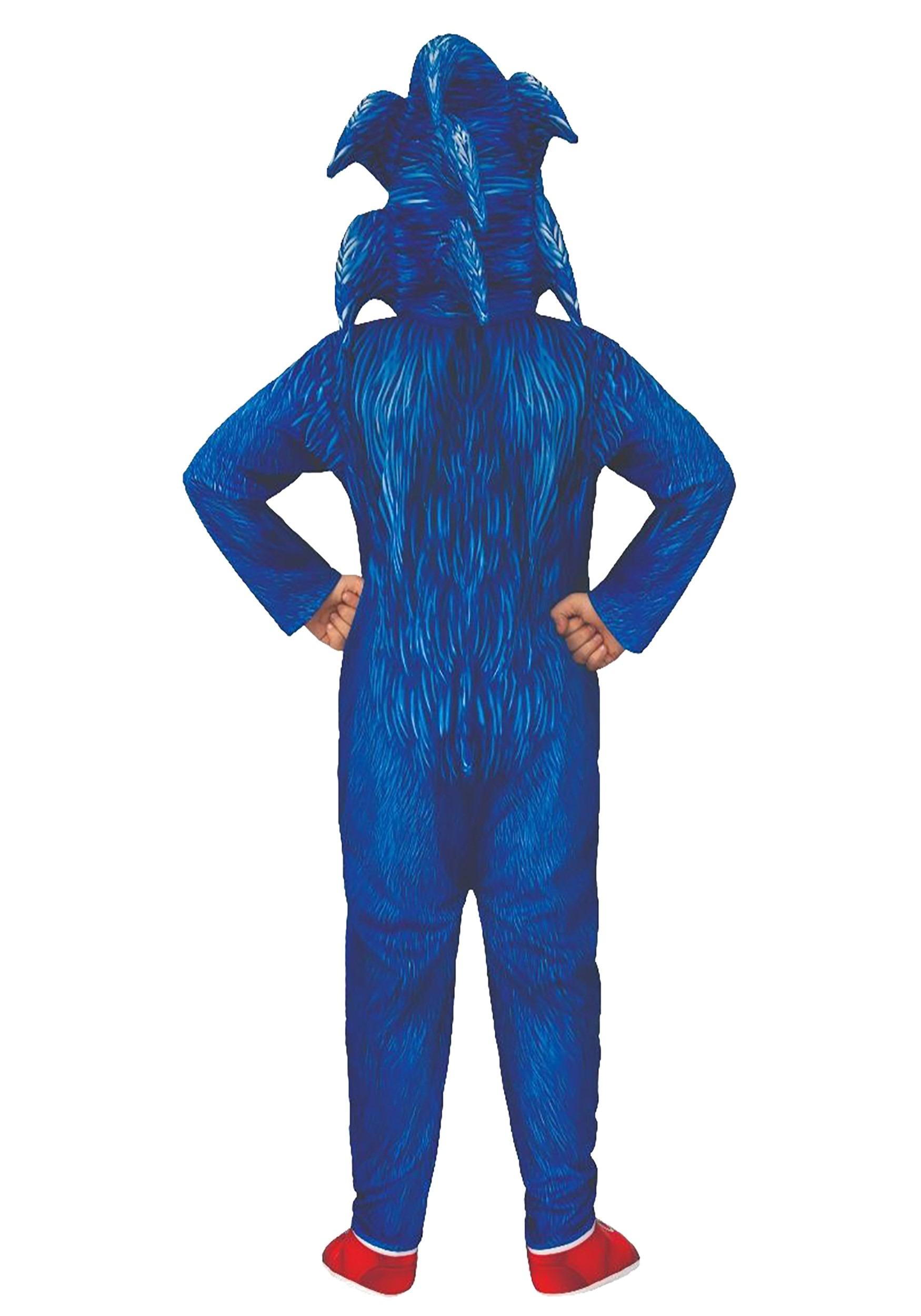 Sonic The Hedgehog Movie Deluxe Costume