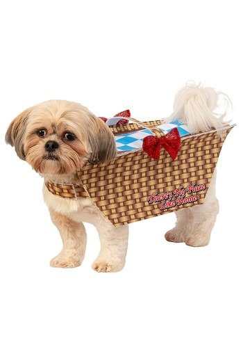 Wizard of Oz Toto in Basket Dog Costume