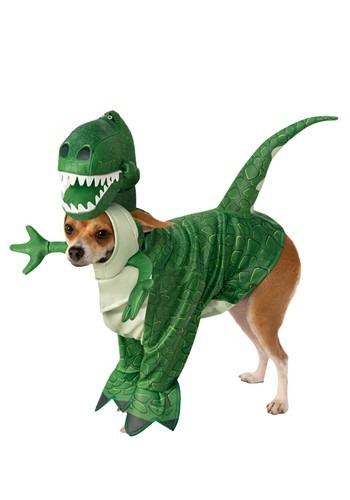 Toy Story Rex Costume for Dogs