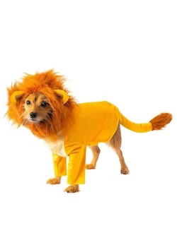 The Lion King Simba Costume for Dogs