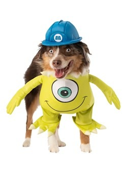 Mike Monsters Inc Dog Costume